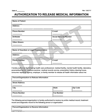 General medical records release form sample free download thecheapjerseys Gallery