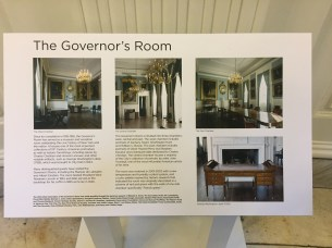 Overview of the Governor's Room.
