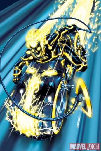 Ghost Rider Tron Variant