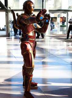 Steampunk Ironman 1