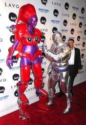 Heidi Klum and Seal arrive for Heidi Klum's 11th Annual Halloween Party, NYC