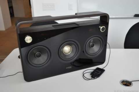 TDK Three Speaker Boombox-4