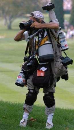 fotografo equipaggiato
