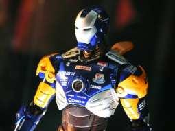 iron man racer detail
