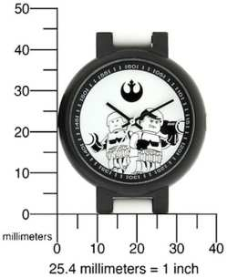 lego star wars watches misure adulto 2