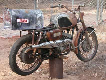 mailbox19 - Motorcycle