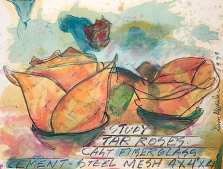 Study for Tar Roses
