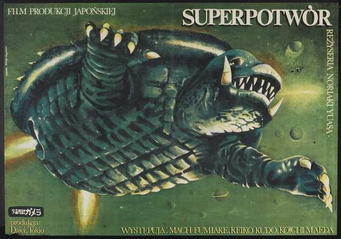 Super Mostro Gamera (Polonia 1980)