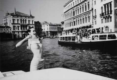 17 girl grand canal