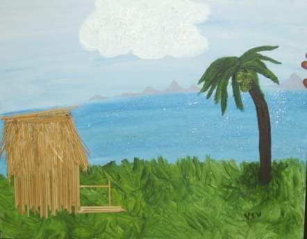 Tiki-hut