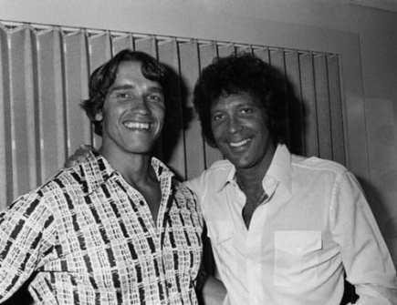 Arnold Schwarzenegger and Tom Jones