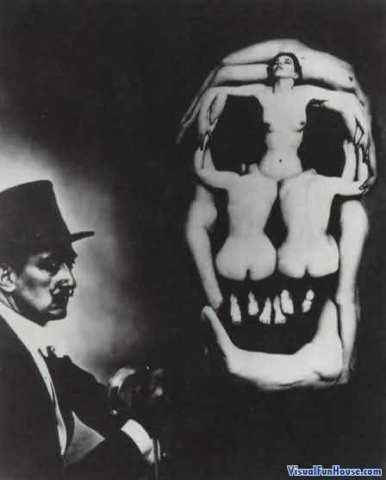 dali-skull