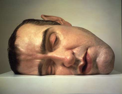 Ron Mueck - mask 2