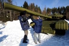 Russia - Armamenti gonfiabili