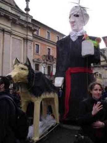 Ruini ed il pastore tedesco