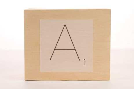Scarabeo A1 scatola