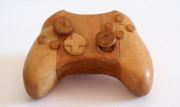 wooden xbox 10