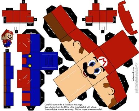 Super Mario Papercraft - For Dummies