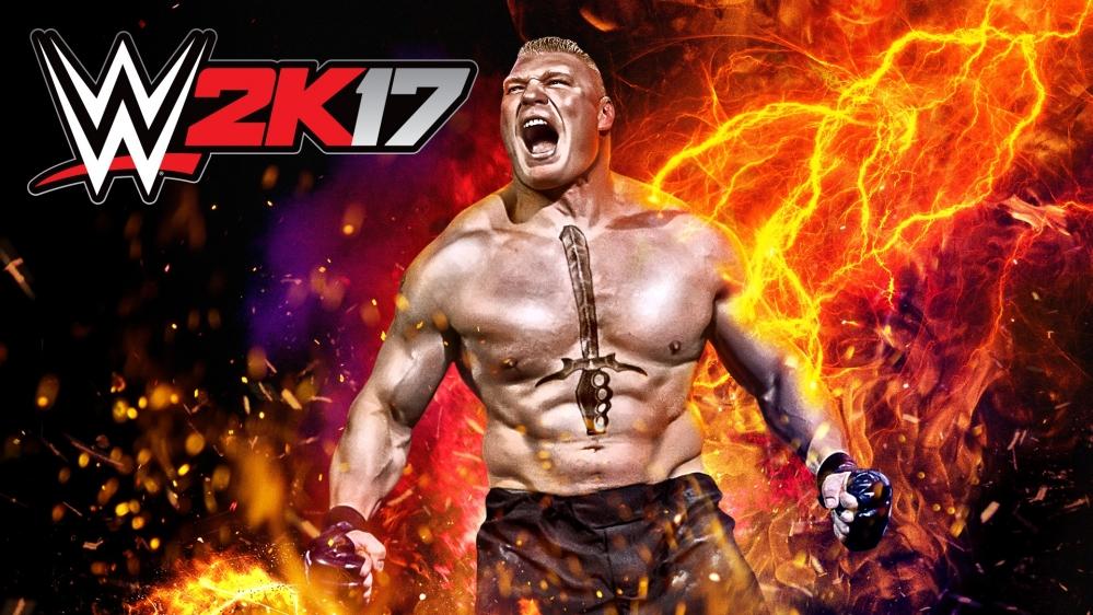 WWE2K17 finalmente ora disponibile