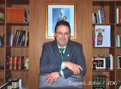 Jesus Gomez alcalde de leganes