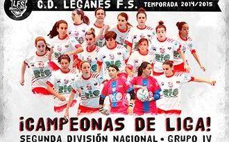 CD Leganés FS campeonas liga