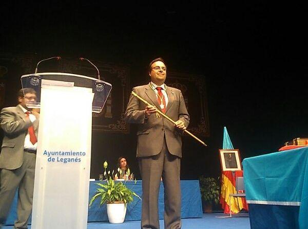 Santiago Llorente, nuevo alcalde de Leganés