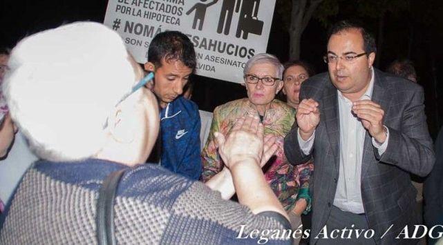 PAH reclama a Santiago Llorente