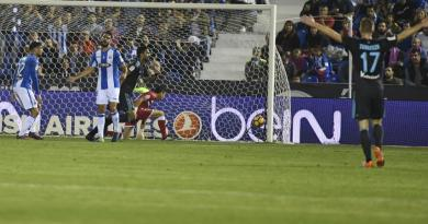 El Leganés cayó en casa ante la Real Sociedad.
