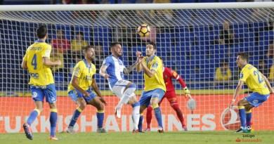 Guerrero rescató un punto ante Las Palmas para el Leganés.