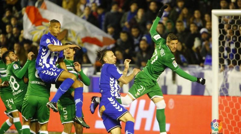 El Leganés consiguió un valioso empate en Vitoria.