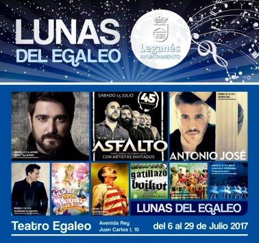 Programa Las Lunas del Egaleo 2017