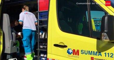 Fallece un motorista en un choque contra el guardarrail en la M-407 a su paso por Leganés