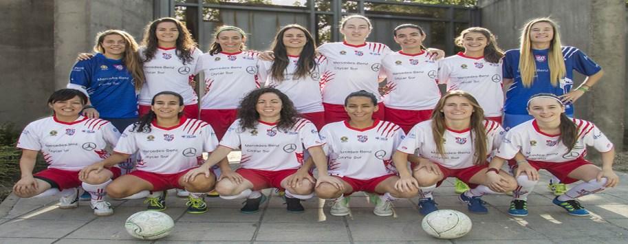 Las chicas del fútbol sala de Leganés