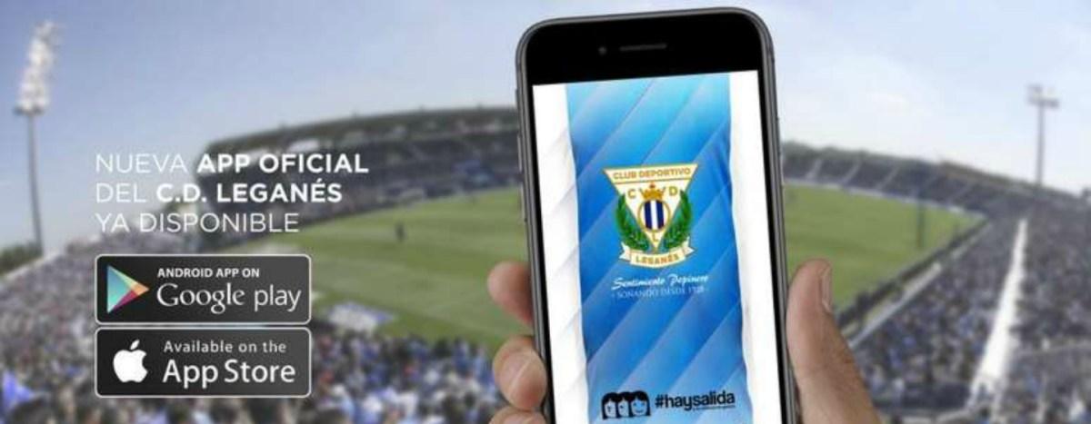Fútbol: El CD Leganés estrena nueva app
