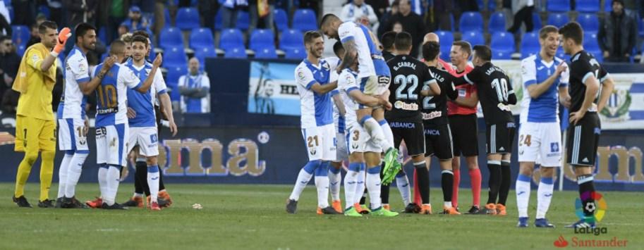 Leganes vence al Celta de Vigo