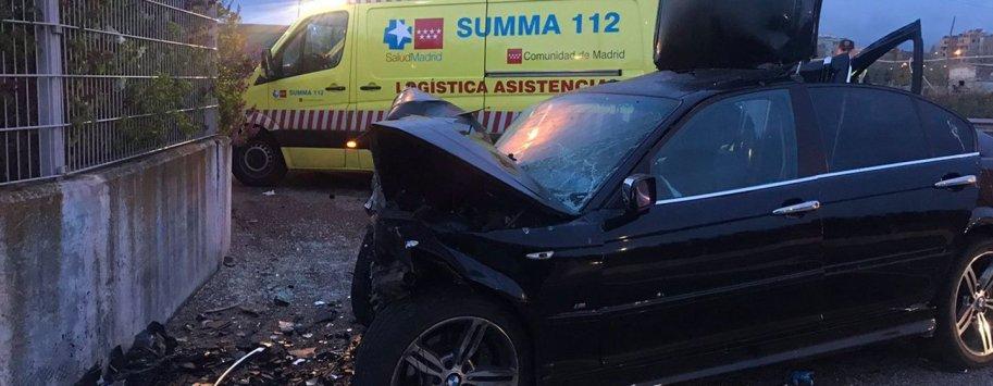 accidente m45 leganes