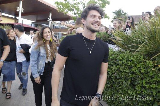 Carlos Right y Julia entran a El Lago de CC Parquesur