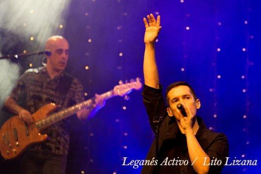 Jorge Ruiz, vocalista de Maldita Nerea. Foto: Lito Lizana