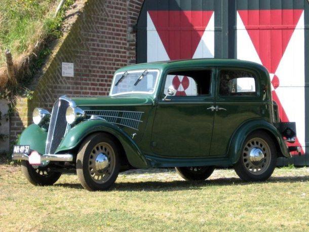 1935: Simca-Fiat 6 cv