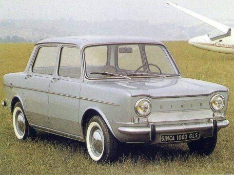 1961: Simca 1000