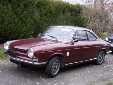 1963: Coupé Simca 1000 Bertone