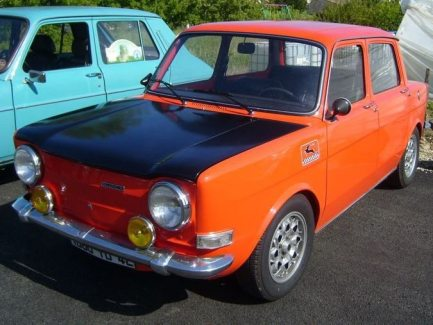 1971: Simca 1000 Ralley 1