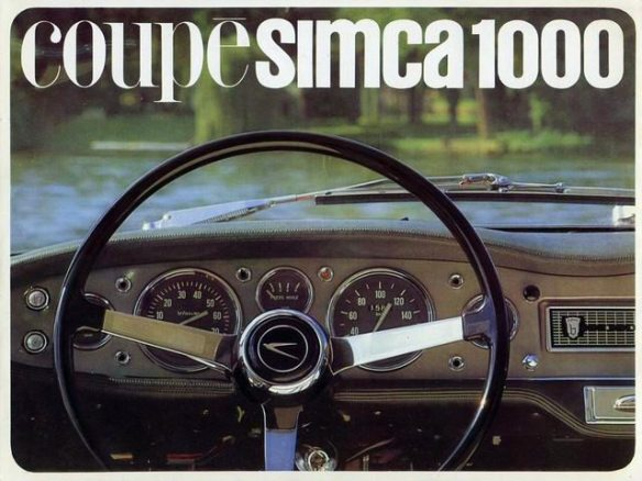 Coupé Simca 1000