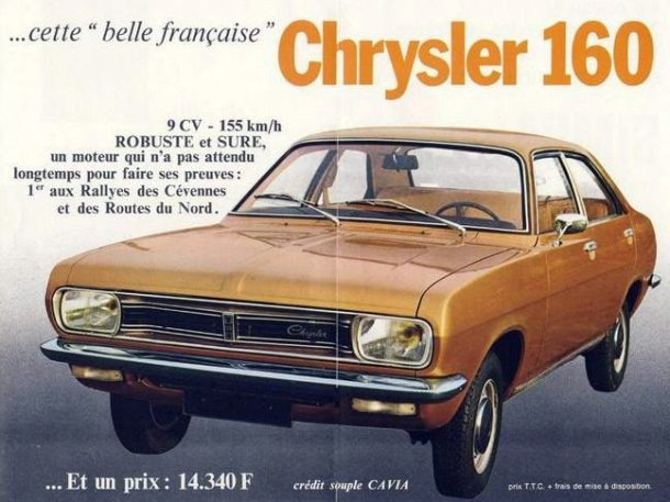 Simca-Chrysler 160