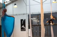 Master class de tissus aériens du 24 au 28 août 2015