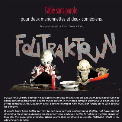7 & 8 avril 2016   Foutraktown   Cie Louise Rafale