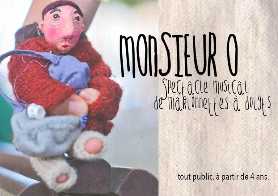 Monsieur O | Spectacle Musical de Marionnettes à doigts