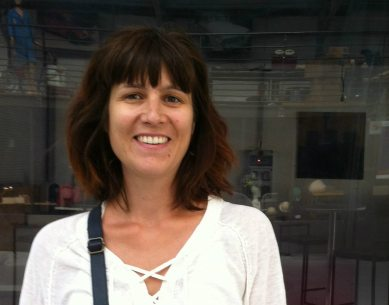 Jeanine - Décor verre et textile