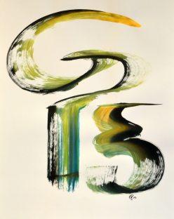 Fred Moullec - Encre et peinture