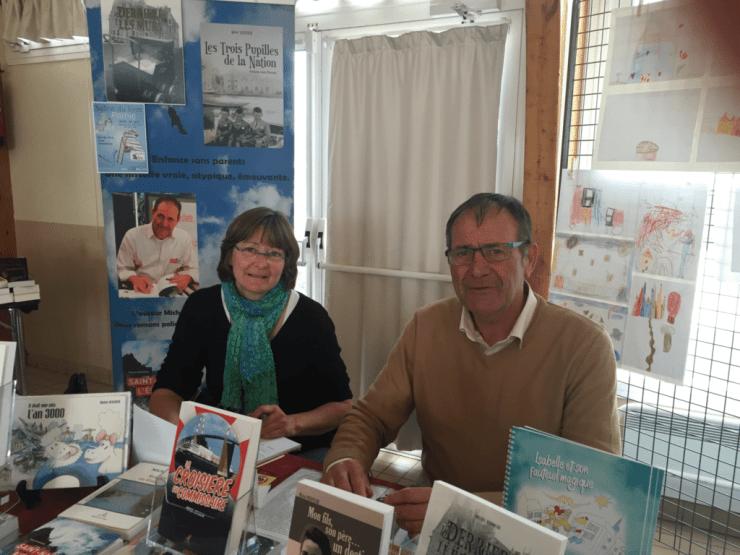 Caroline Delécluse et Michel Hervoche